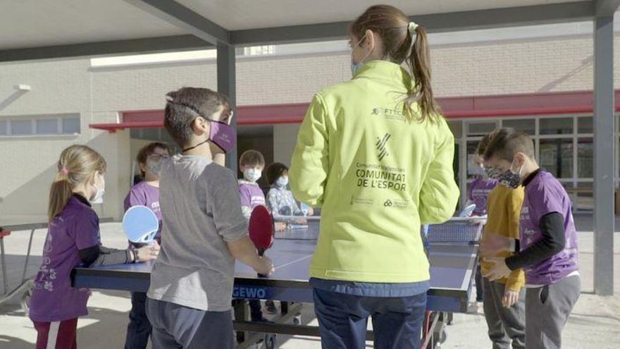 Arranca en Castelló el proyecto 'Esport a l'Escola +1H'
