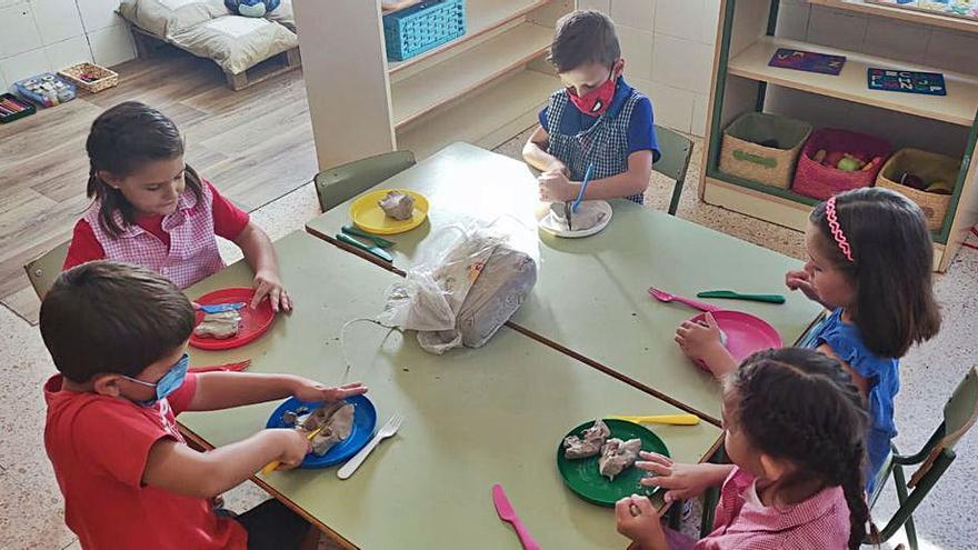 Bienvenida multisensorial en el colegio de Benifairó