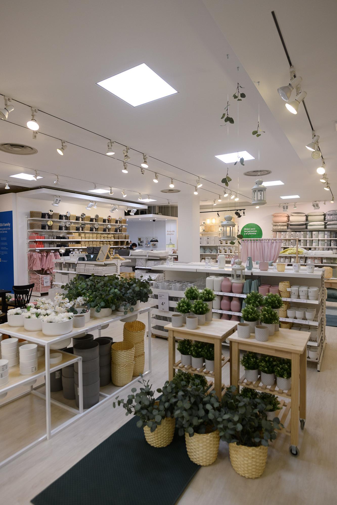 Así es la nueva tienda Ikea en Valencia, que ha abierto en el Centro Comercial Saler