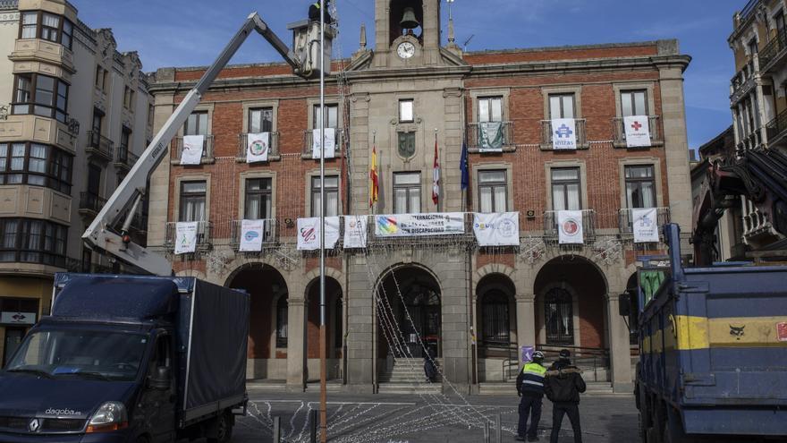 La Navidad llega a la Plaza Mayor de Zamora capital