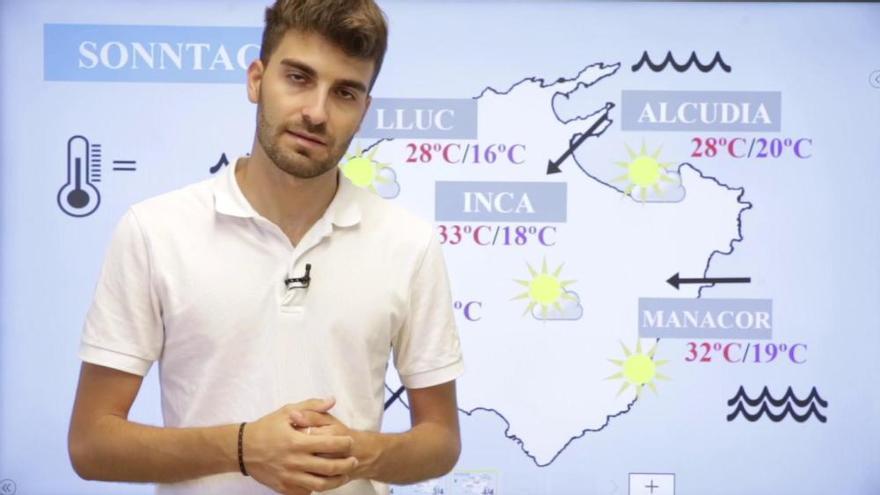 So wird das Mallorca-Wetter am Wochenende (25.6.-27.6.)