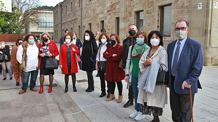 Despedida a los profesionales sanitarios jubilados en el año de la pandemia