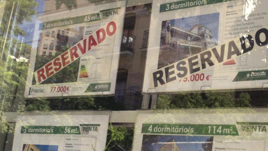 El precio medio de la vivienda en España se incrementa