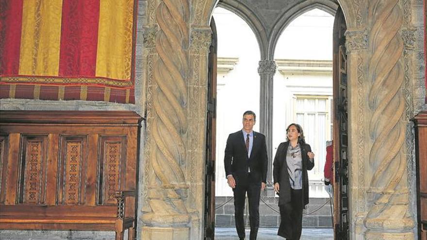 Sánchez devuelve a Barcelona la capitalidad cultural