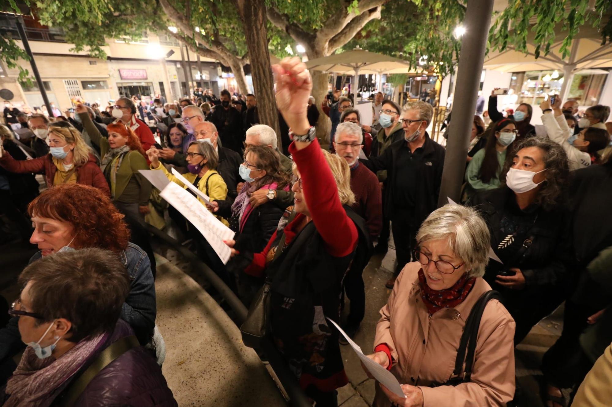 'Somos' en San Pedro Nolasco: el cierre alternativo de los Pilares