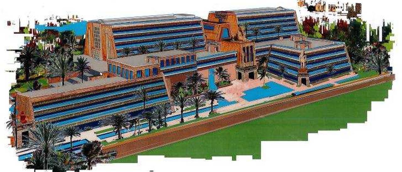 Terra Mítica inicia las obras de su primer hotel temático
