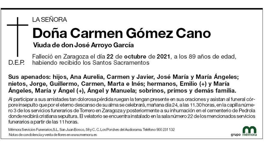 Carmen Gómez Cano