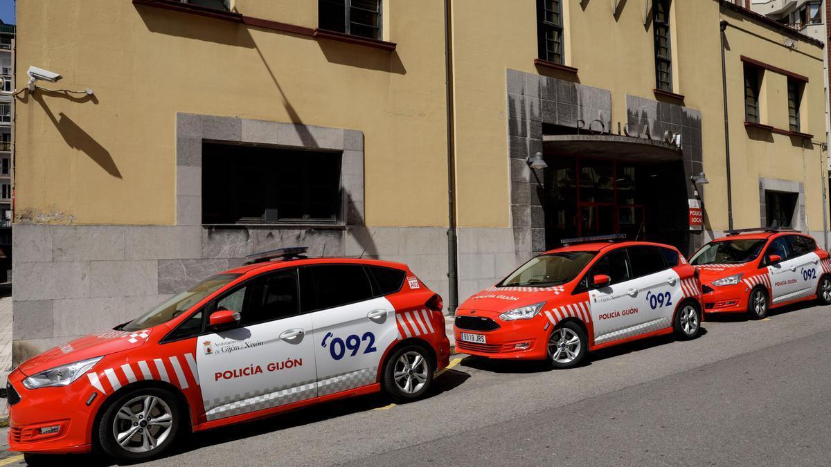 Imagen de archivo de la comisaría de la Policía Local de Gijón
