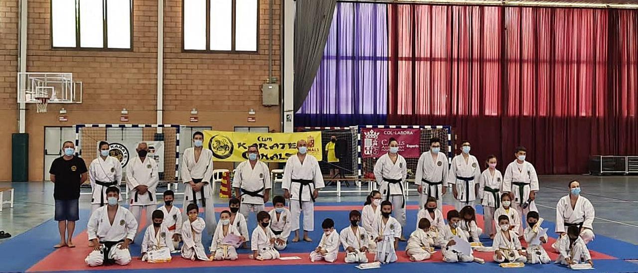 Final de temporada en el Club de Karate de Canals