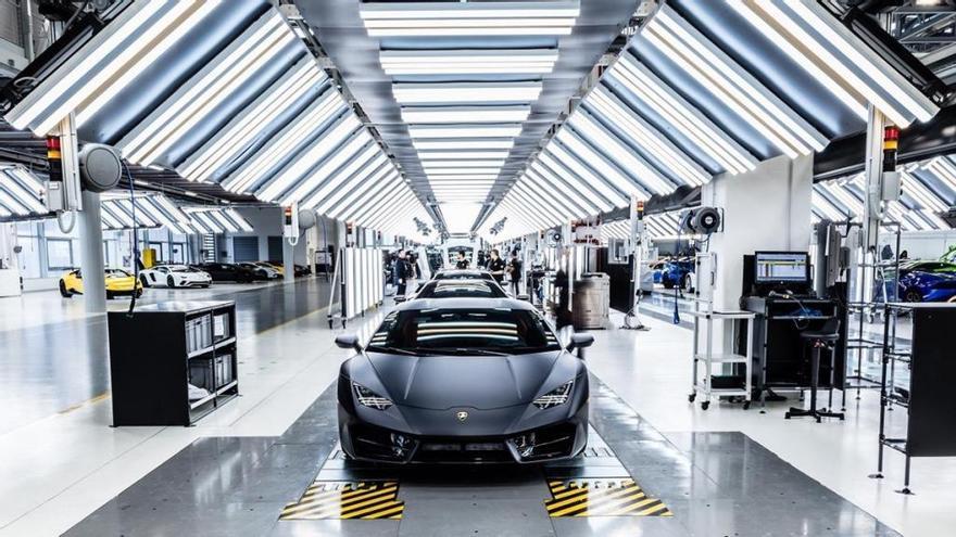 Lamborghini cierra su planta en Italia por el coronavirus