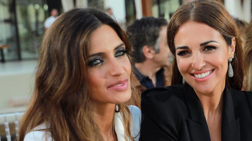 Paula Echevarría y Sara Carbonero pasean su amistad