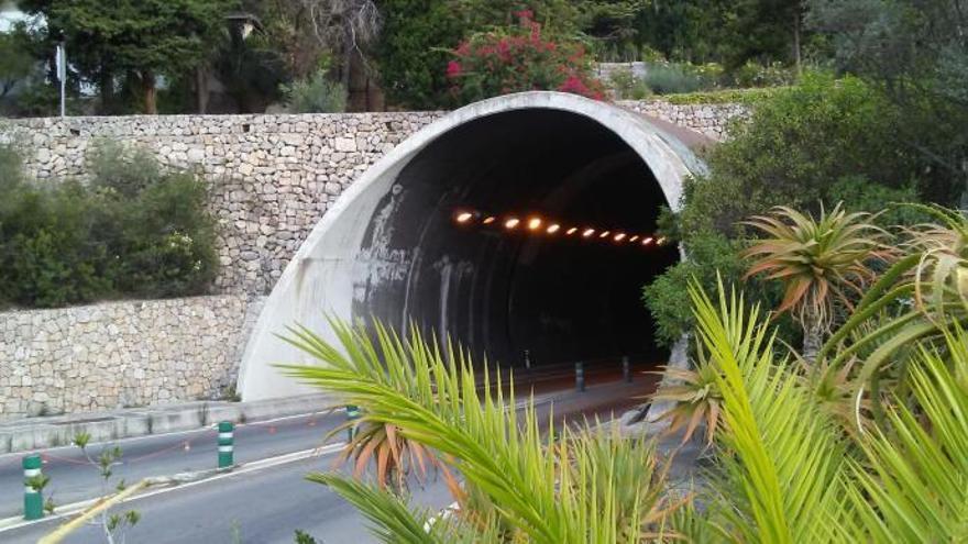 Nächtliche Sperrung des Sóller-Tunnels angekündigt