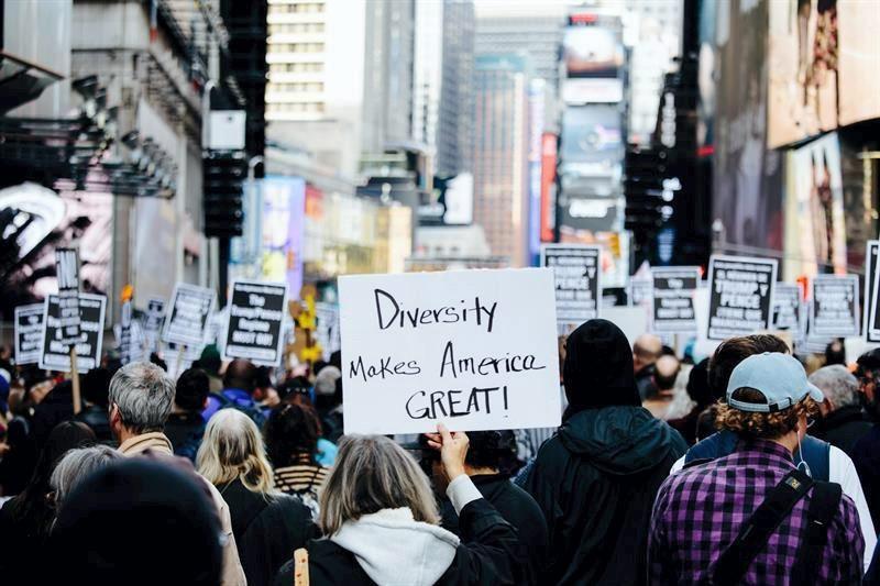 Manifestaciones anti-Trump toman las calles de Nueva York