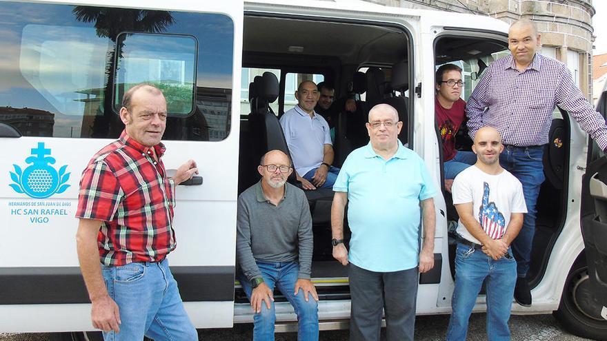 San Rafael pone en marcha un crowdfunding para comprar una nueva furgoneta adaptada