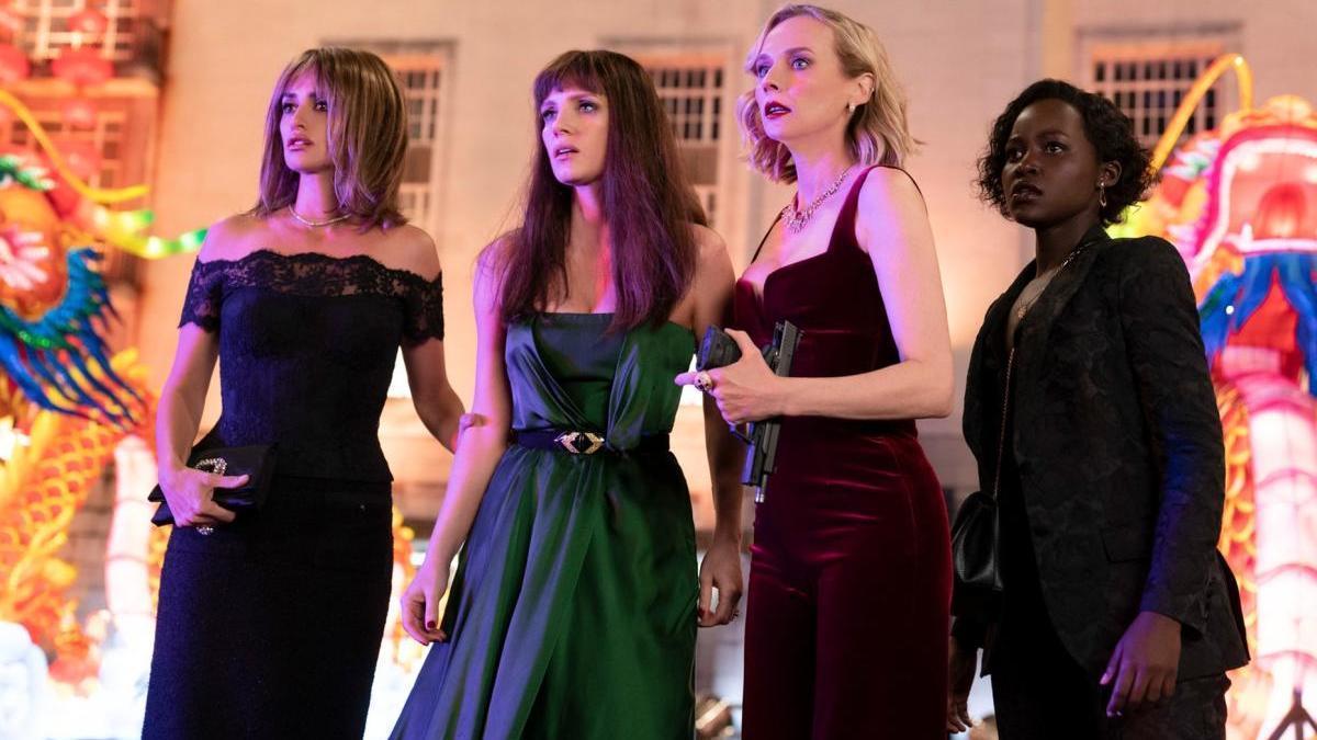 Penélope Cruz, Jessica Chastain, Diane Kruger y Lupita Nyong'o.