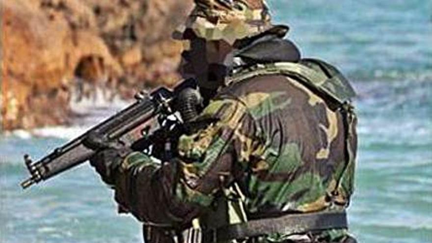 La Fuerza de Guerra Naval elige Galicia como campo de entrenamiento