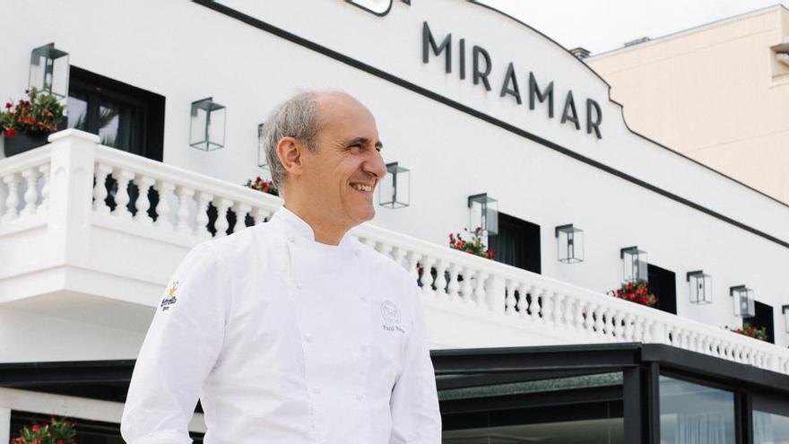 Paco Pérez reobre el restaurant Miramar a Llancà