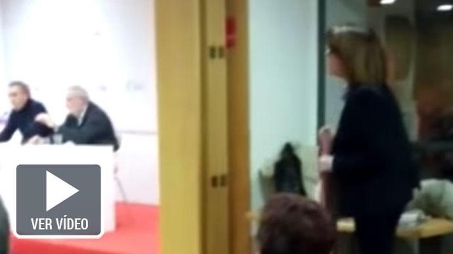 """Soraya Rodríguez abandona una reunión del PSOE entre gritos de """"traidora"""""""
