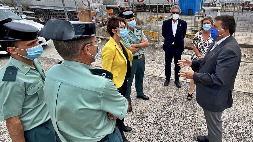 El Puerto construye un edificio para la Guardia Civil en el Muelle Pesquero