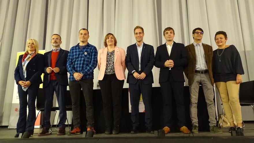 Comerç Figueres debat sobre el futur del sector amb els polítics municipals