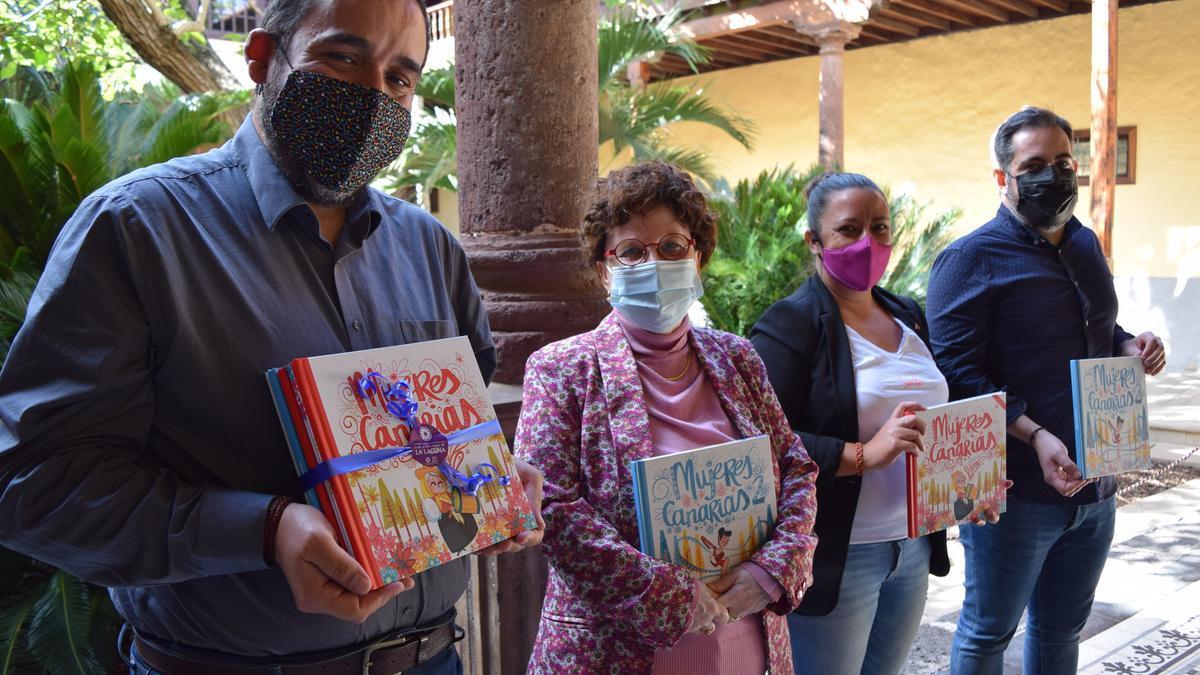 Presentación del libro Mujeres Canarias