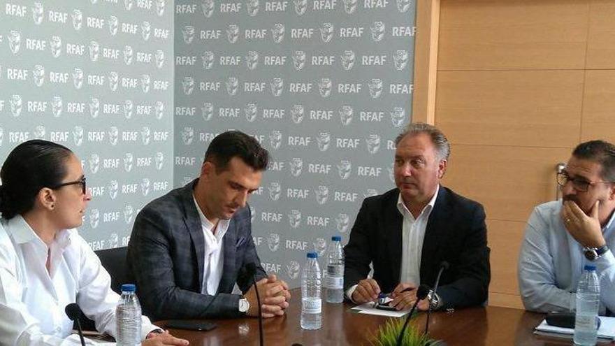Matías Caballero y Alba Lora ya ejercen en el nuevo Comité Andaluz de Árbitros