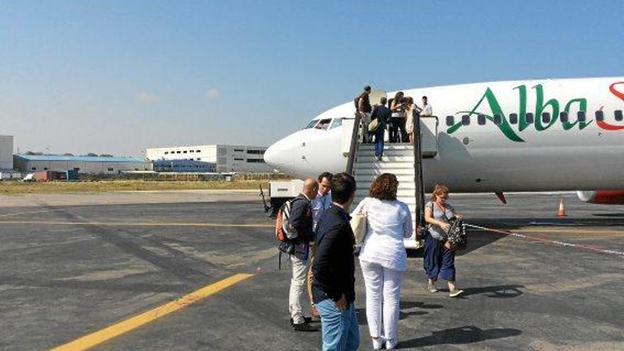 In 79 Minuten von Mallorca nach Afrika