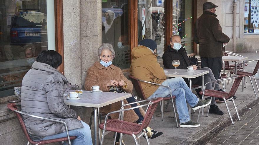 Desigual apertura de la hostelería en la comarca, que inicia la creación de una federación gallega