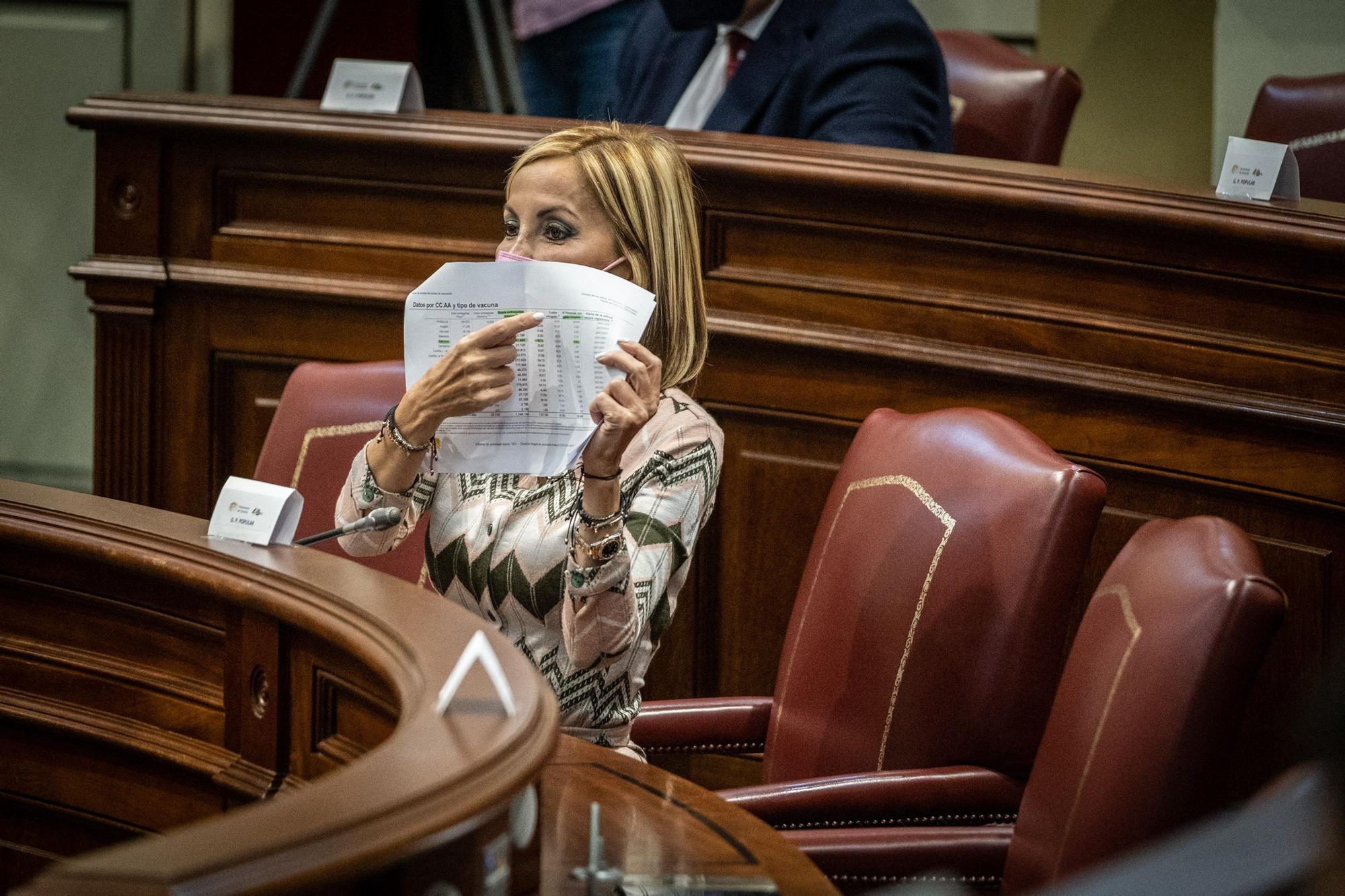 Pleno del Parlamento de Canarias del 26 de enero de 2021
