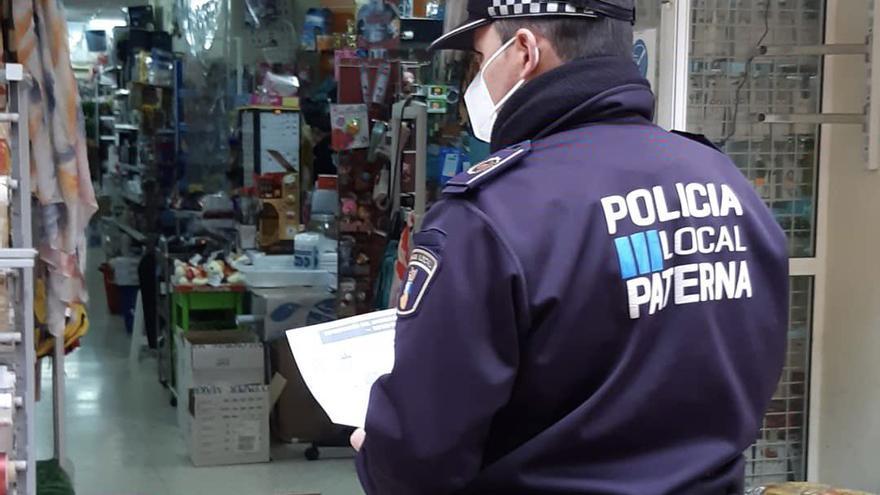 Paterna amplía hasta el 3 de febrero las restricciones municipales