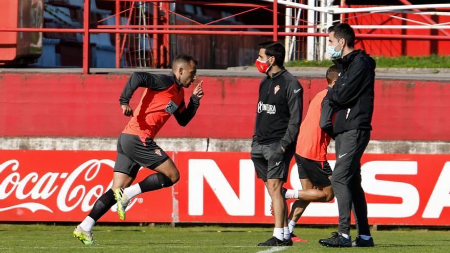 """Aitor García, jugador del Sporting: """"Nadie daba un duro por nosotros"""""""