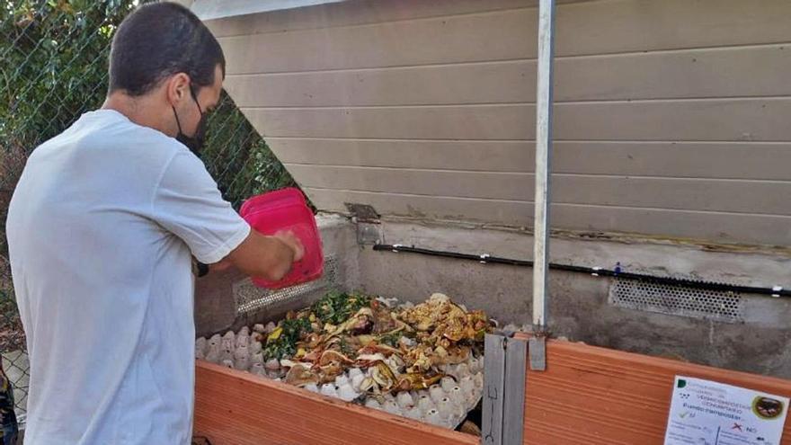 Tacoronte implica a 30 familias en el compostaje con lombrices rojas