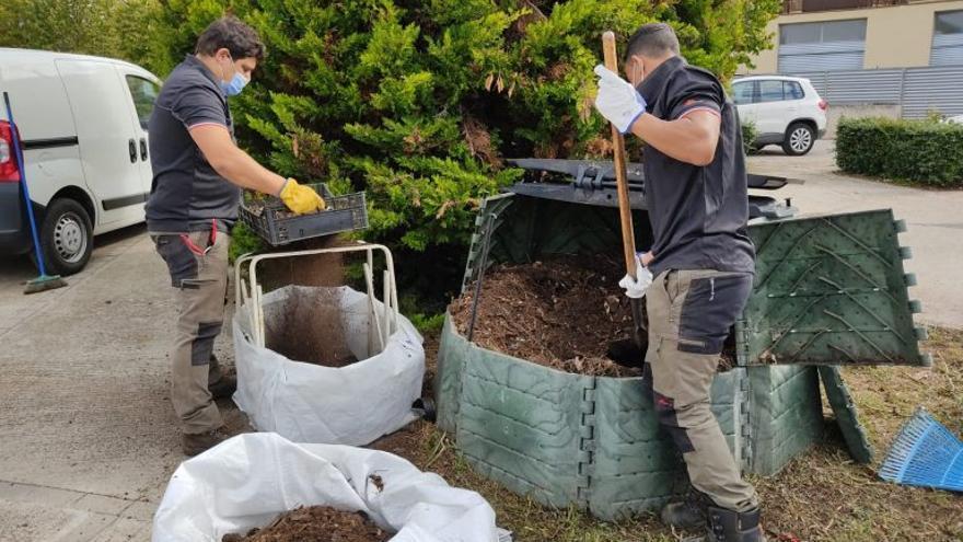 El Berguedà produeix 11 metres cúbics d'adob orgànic en un any
