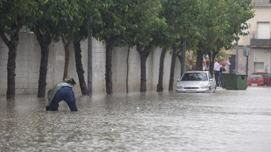 Activado el plan especial de Protección Civil por riesgo de inundaciones en la Región