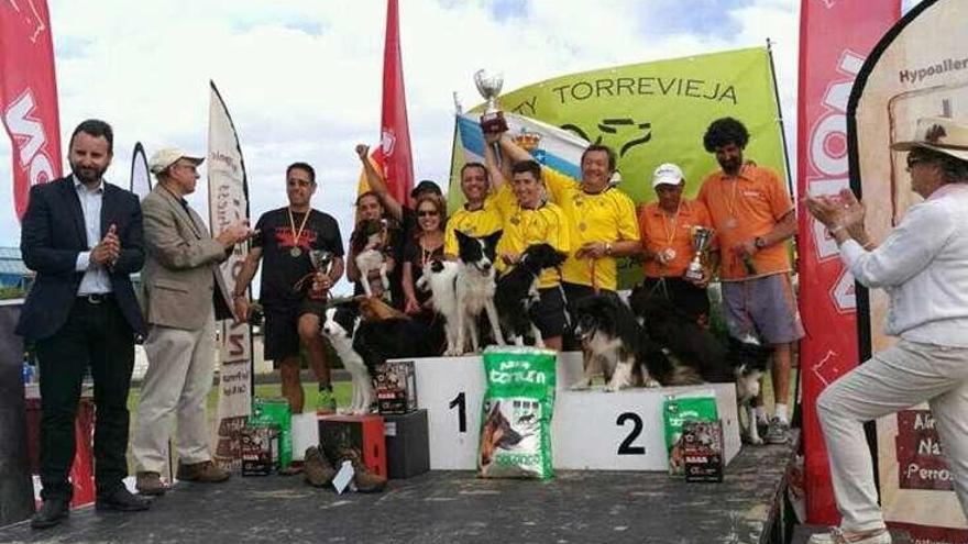 El equipo Tercans de Moaña queda subcampeón de España de agility en Torrevieja