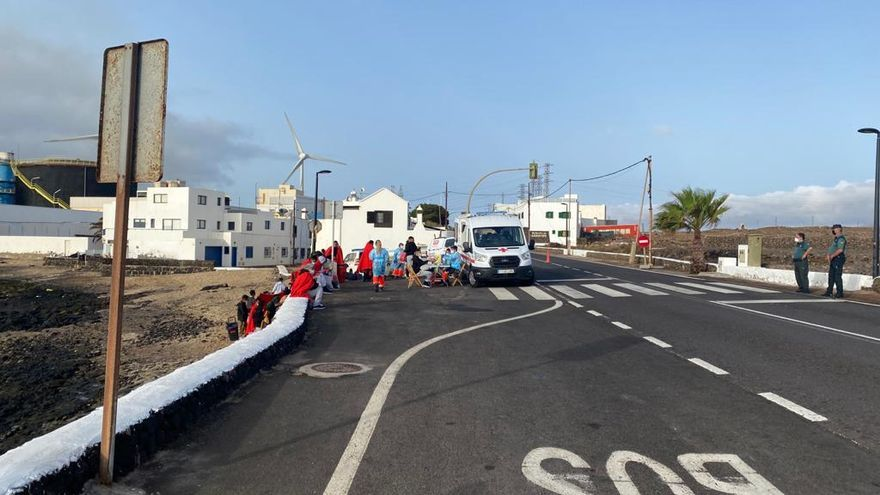Llega a Lanzarote una patera con 39 inmigrantes