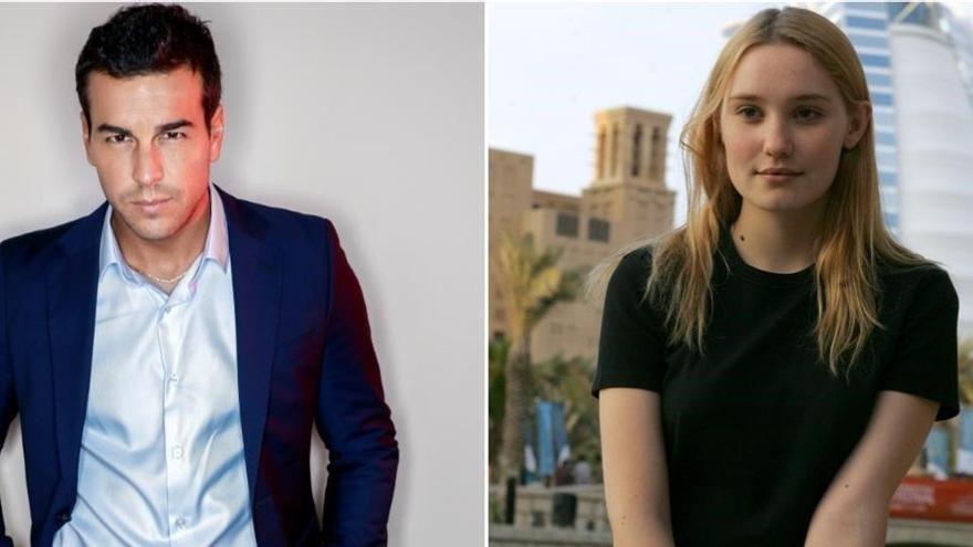 Mario Casas «enxampat» amb la seva nova parella a Barcelona