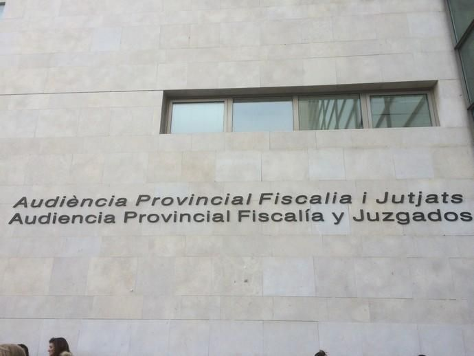 Fachada Ciudad de la Justicia de València