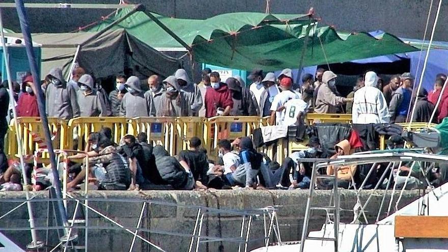Salvament Marítim rescata 281 migrants a Canàries, i un mínim de 12 són hospitalitzats