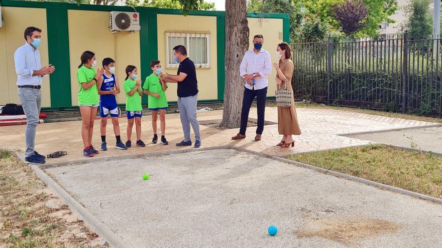 El Ayuntamiento de Caravaca abre por primera vez al público el Parque Educación Vial