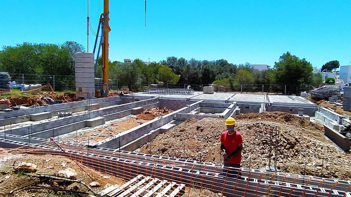 Empieza la construcción del centro de día de Cala d'Or