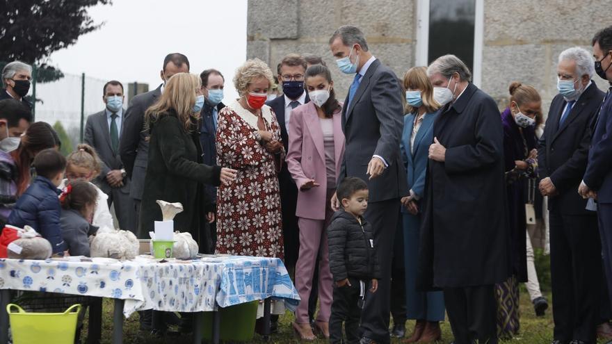 Los Reyes viajan a Pontevedra para entregar a un colegio rural el Premio Escuela del Año de la Fundación Princesa de Girona
