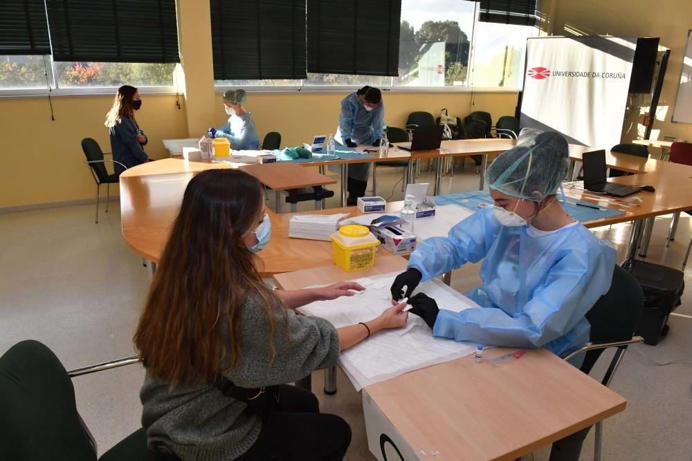 Arrancan los test serológicos en la Universidad