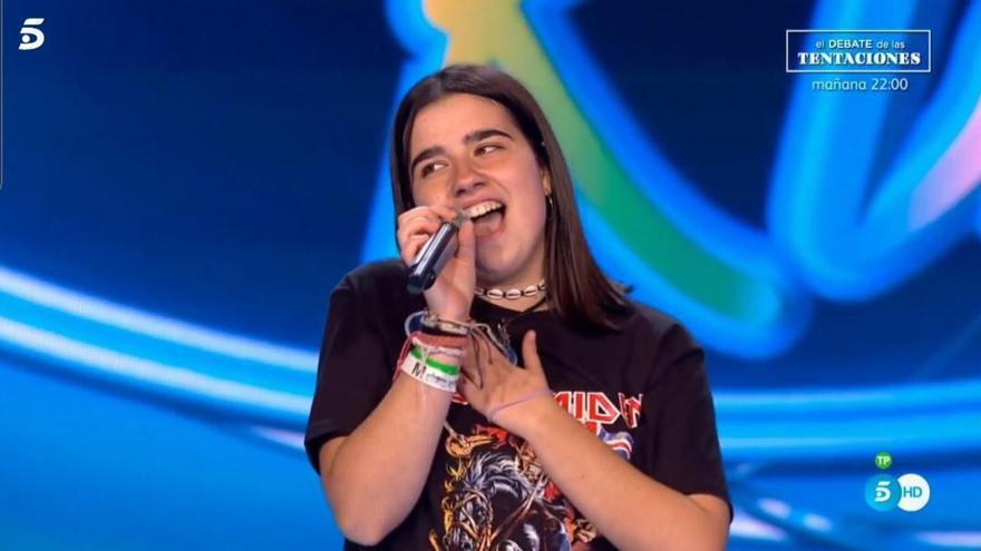 Ariana Ramírez: «Cantar en un plató de televisió ha sigut molt gratificant»