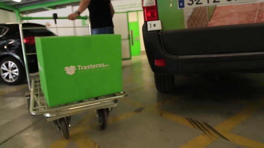 Trasteros Plus ofrece espacio gratuito para la donación de enseres a los afectados por el volcán de La Palma