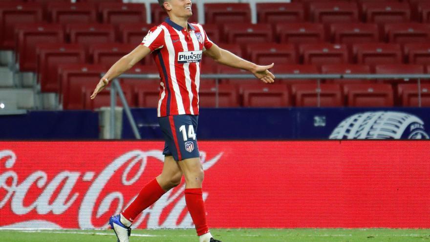 Marcos Llorente renueva con el Atlético hasta 2027