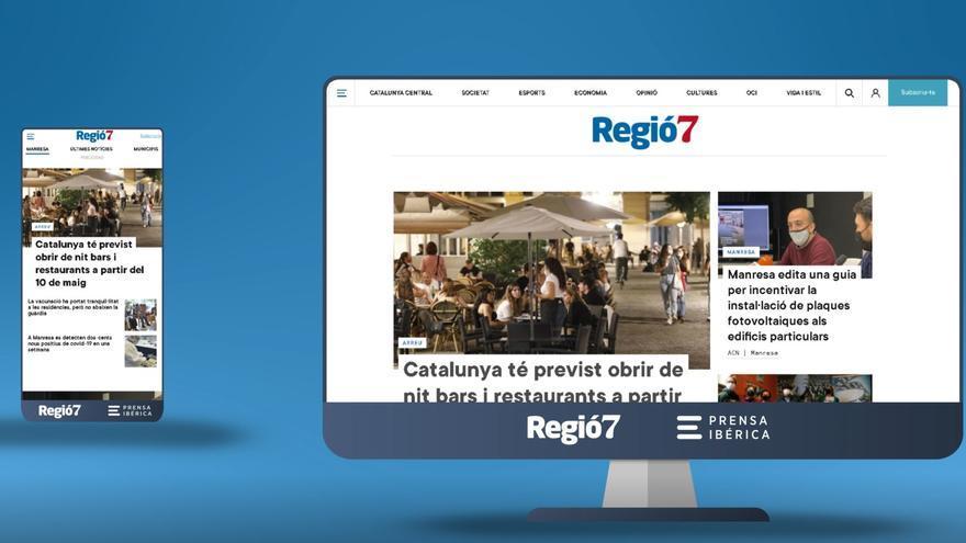 La web de Regió7 estrena disseny, una experiència multidispositiu més dinàmica i senzilla