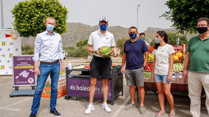 Rudy Fernández apoya el compromiso de Lidl con el producto balear
