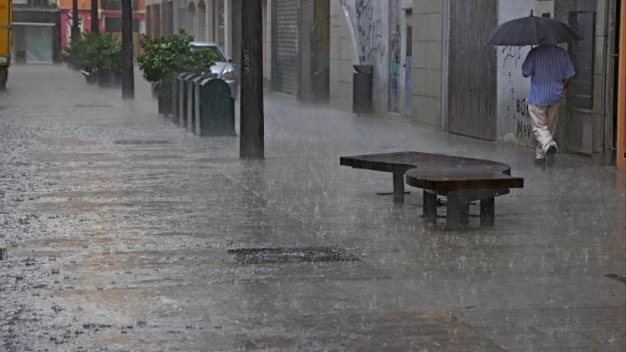Lluvia en Valencia: Las localidades donde más agua ha caído hoy