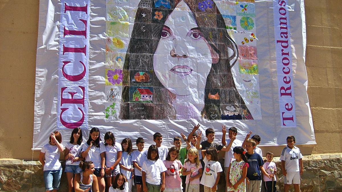 Homenaje a Celilia en Colinas de Trasmonte.|